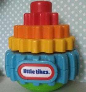 Пирамидка-хохотушка little tikes