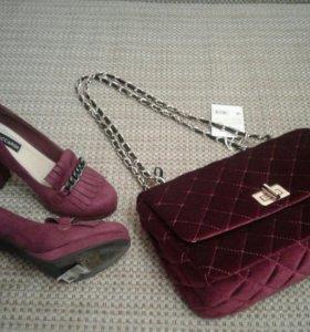 Туфли с сумочкой