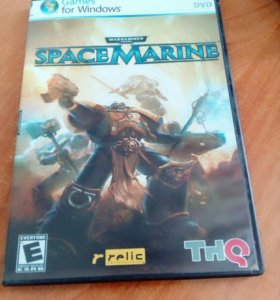 Игровой диск SpaceMarine