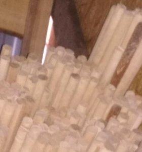 Шканты деревянные березовые