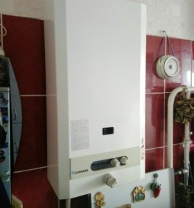 Колонка газовая юнкерс с дымоходом из нержавеющей