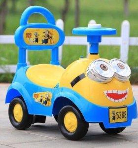 Машинка детская музыкальная
