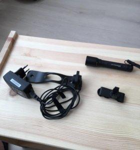 Фонарь аккумуляторный led lenser