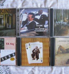 Коллекция музыкальных дисков B.B. King