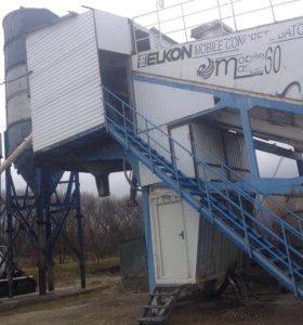 Бетонный завод элкон 60