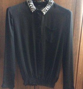 Шифоновая рубашка-блузка