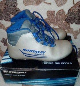 Ботинки лыжные. Крепление NNN