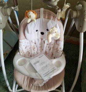 Электрокачели Butterfly 2 в 1 от Babycare