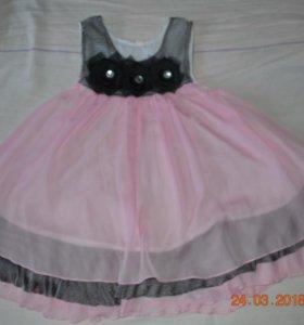 5c2430f7967 Воздушное пышное платье на девочку на лето. Владивосток