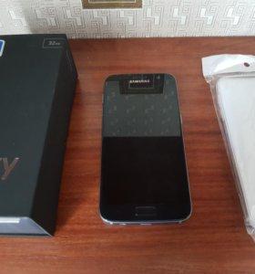 SAMSUNG Galaxy S7 оригинал, Black onyx, супер