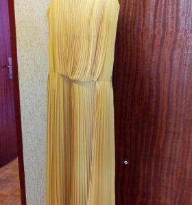 Шифоновое платье впол