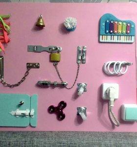 Бизиборд игрушка