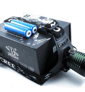 Налобный фонарь аккумуляторный X-Balog Bl-2188B-T6