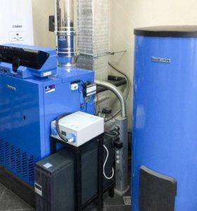 Монтаж систем отопления (овк)