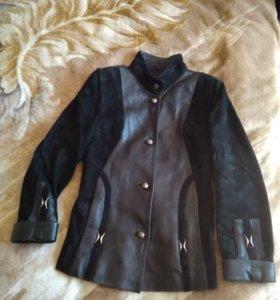 Куртка из натуральной кожи,размер 44-46.