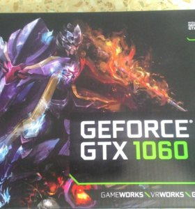 Новая видеокарта GTX 1060 6Gb