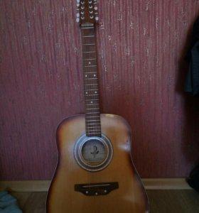 Гитара 12 струн.