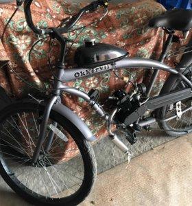 Велосипед с моторчиком. 49 кубиков