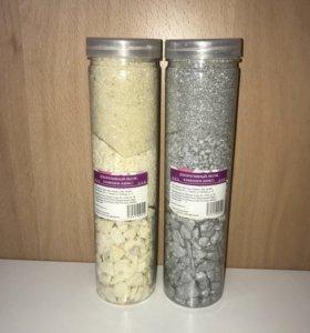 Набор: декоративные камешки и песок (цена за 2шт)