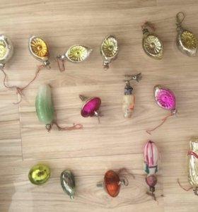 Советские елочные игрушки