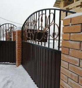 Ворота, заборы, беседки, лестницы