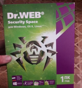 Продаю антивирус Dr.WEB
