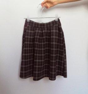 Клетчатая юбка