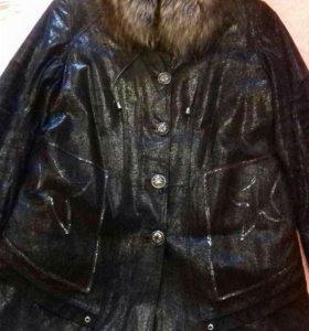 Пальто (натуральная кожа)