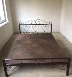 Кровать металическая из ковки