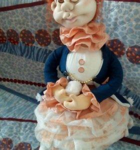 Интерьерная кукла Люсенька