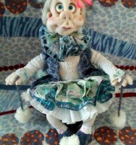 Авторская интерьерная кукла Мариша