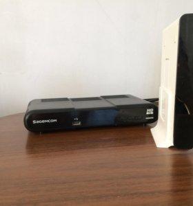 Wi-fi роутер и интерактивное телевидение.