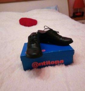 Кожанные туфли Антилопа