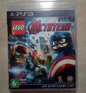 Игра на PlayStation 3 Lego MARVEL Мстители