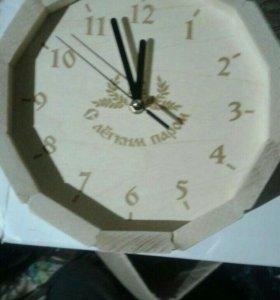 """Часы банные """"Бондарка"""" из липы, в ассортименте"""