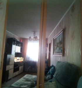 Дверки с зеркалами для шкафа купе с креплением