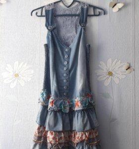 Платье летнее xs-s
