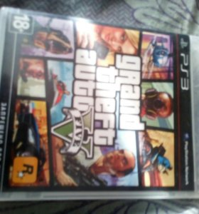 Игра GTA 5 для Playstation 3