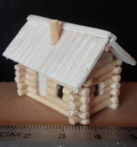 Изготовлю миниатюрные домики