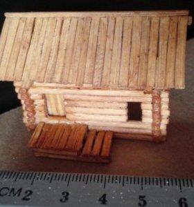 миниатюрный деревенский дом