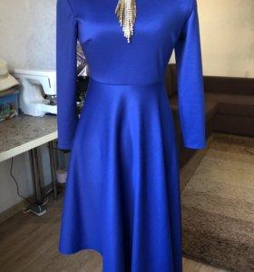 Платье трикотажное s/m