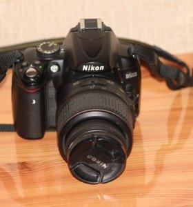 Зеркальный фотоаппарат Nikon D5000+kit 18-55
