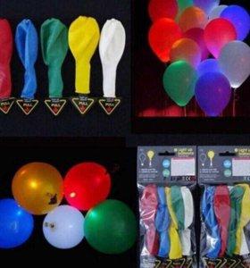 Шары с LED подсветкой воздушные шары для праздника