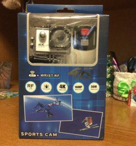 Экшн Камера 🎥 4к, 720, 1080, Wi-Fi