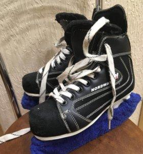 Коньки хоккейные 38р