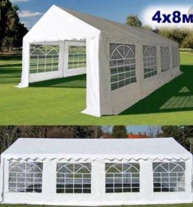 Двускатный шатёр тент для мероприятия 4*8