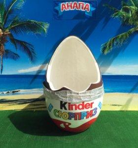 Новые Киндер сюрприз. Яйца для фотографирования.