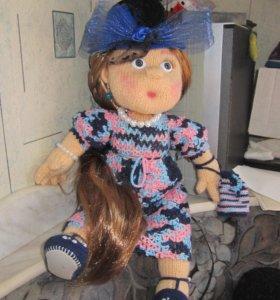вяжу спицами кукол на заказ