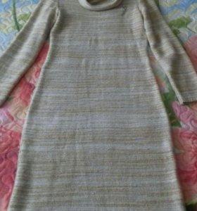 Вязаное платье (машинная вязка )