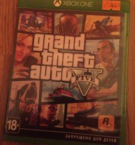 Продам GTA 5 для Xbox one,Xbox one s и Xbox one x